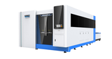 5'x10' Titan Tube Series Enclosed Fiber Laser with Exchange Table 2000W-4000W - BesCutter Canada