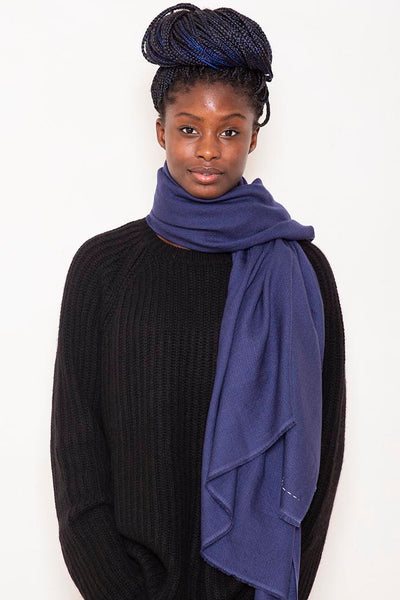 Woven scarf rectangle lunar