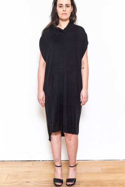 kaftan sleeveless black