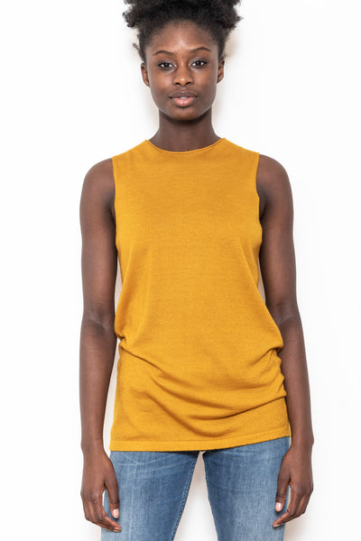 Shell top gold