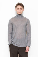 Turtle saddle sleeve light knit oxford