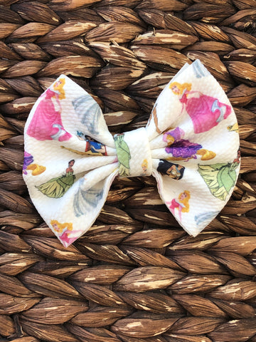 Princess Big Fabric Bow