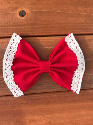 Red Vintage Bow
