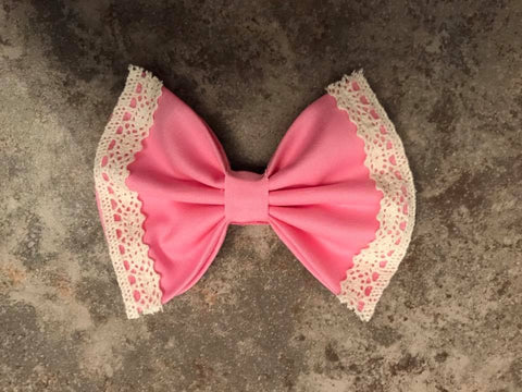 Baby Pink Vintage Bow