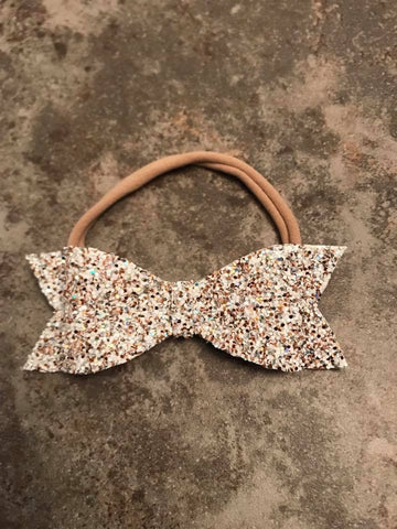 Olympic Glitter Bow