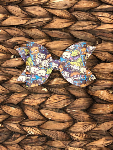 Rugrats Inspired Faux Elizabeth Bow