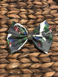 Christmas Camper Fabric Bow