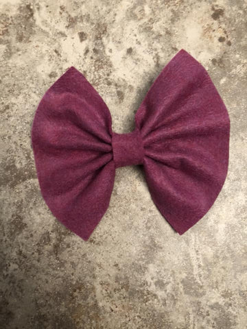 Pomegranate Feltie Bow