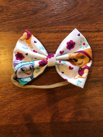 Paw Patrol Inspired Bow