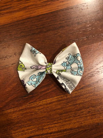 Monsters Inc. Inspired Bow