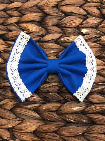 Royal Blue Vintage Bow
