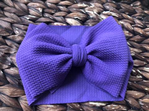 Purple Headwrap