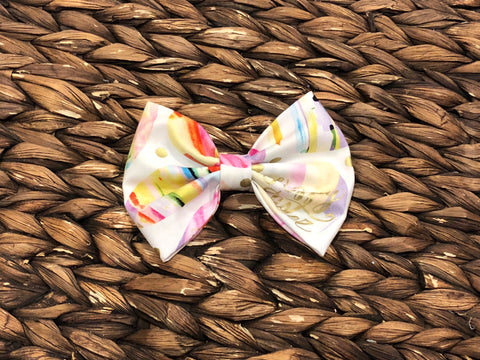 Easter Egg Fabric Bow