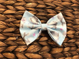 5 inch Seals Fabric Bow