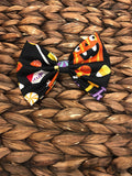Trick or Treat Fabric Bow