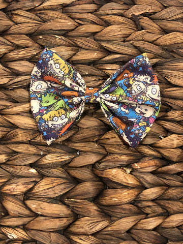 Rugrats Inspired 5 inch Fabric Bow