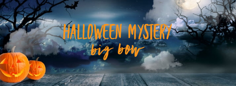 Halloween Mystery Fabric Big Fabric Bow