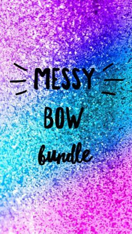 Messy Bow Bundle