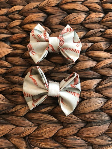 Baseball Fabric Piggies