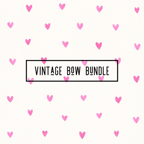 Vintage Bow Bundle (5 Bows)