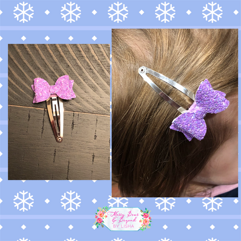 Mystery Snap Clip Bow Bundle (5 snap clips)