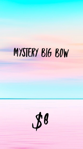 Mystery Big Fabric Bow