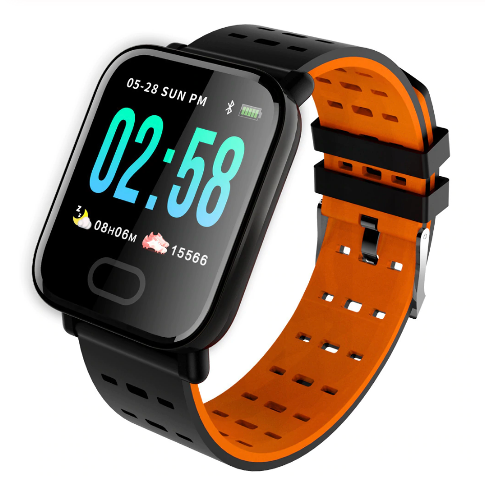 A6 Smart Watch with Heart Rate Monitor Fitness Tracker