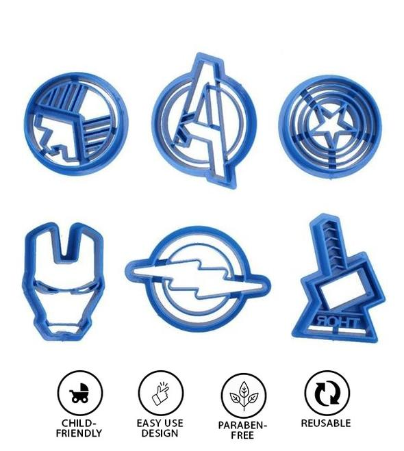 Avengers Cookie Mould