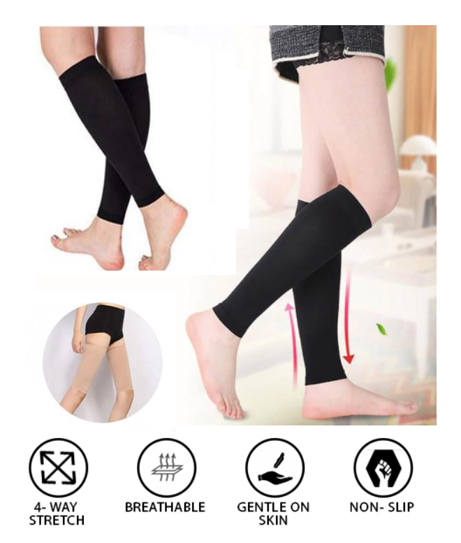 Slimming Leg Compression Sleeve