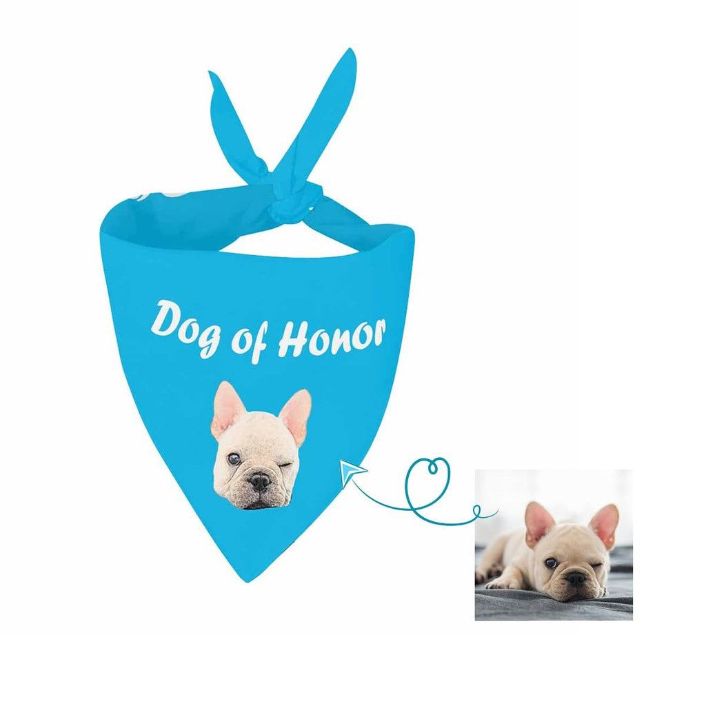 Custom Dog Face Pet Bandana