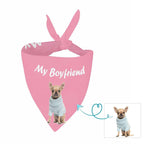 Custom Dog My Boyfriend Pet Bandana