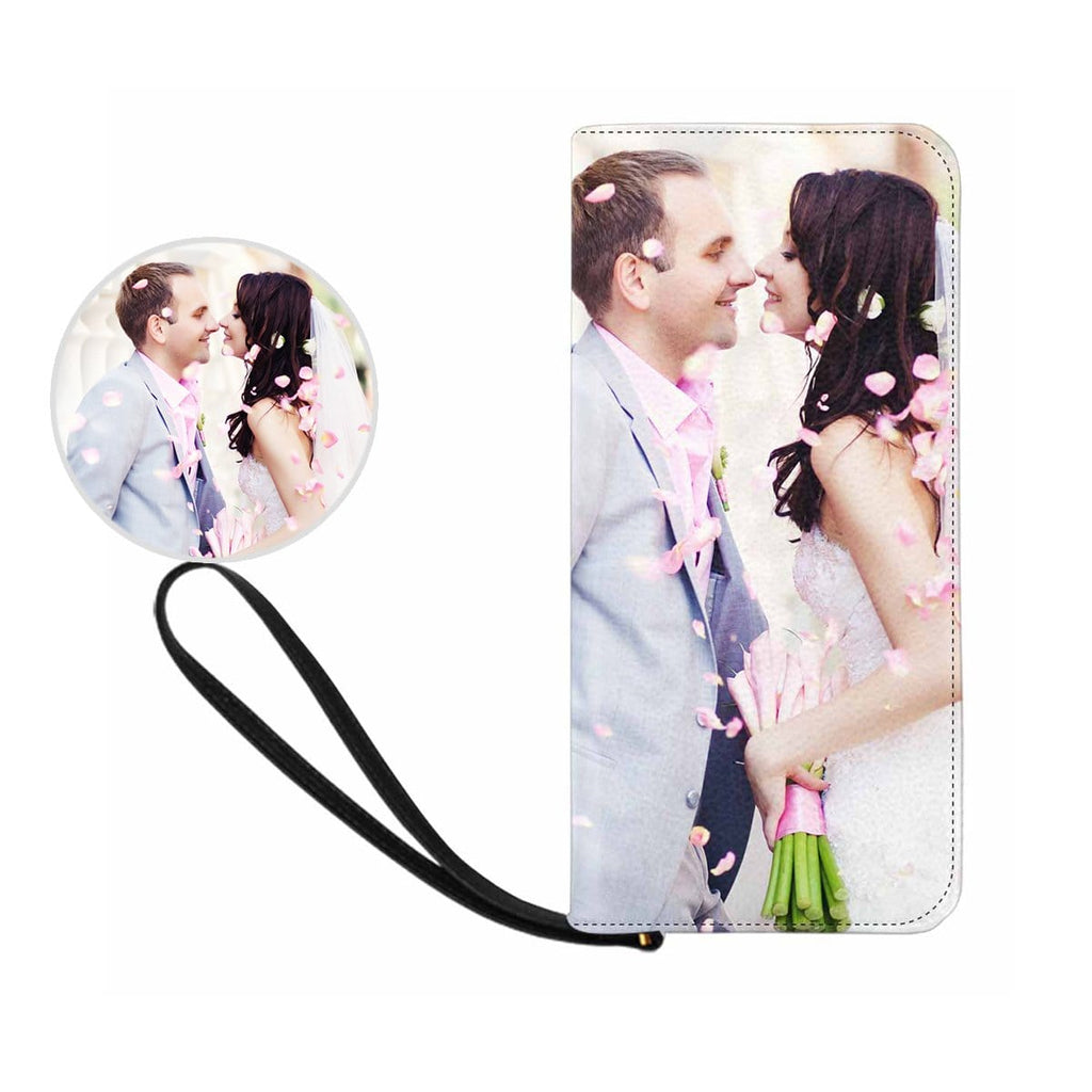 Custom Couple Photo Women's Zip Wallet