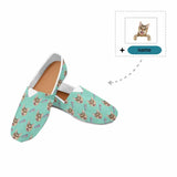 Custom Cat Name Women's Casual Shoes