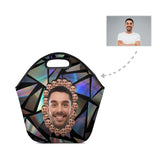 Custom Face Laser Neoprene Lunch Bag