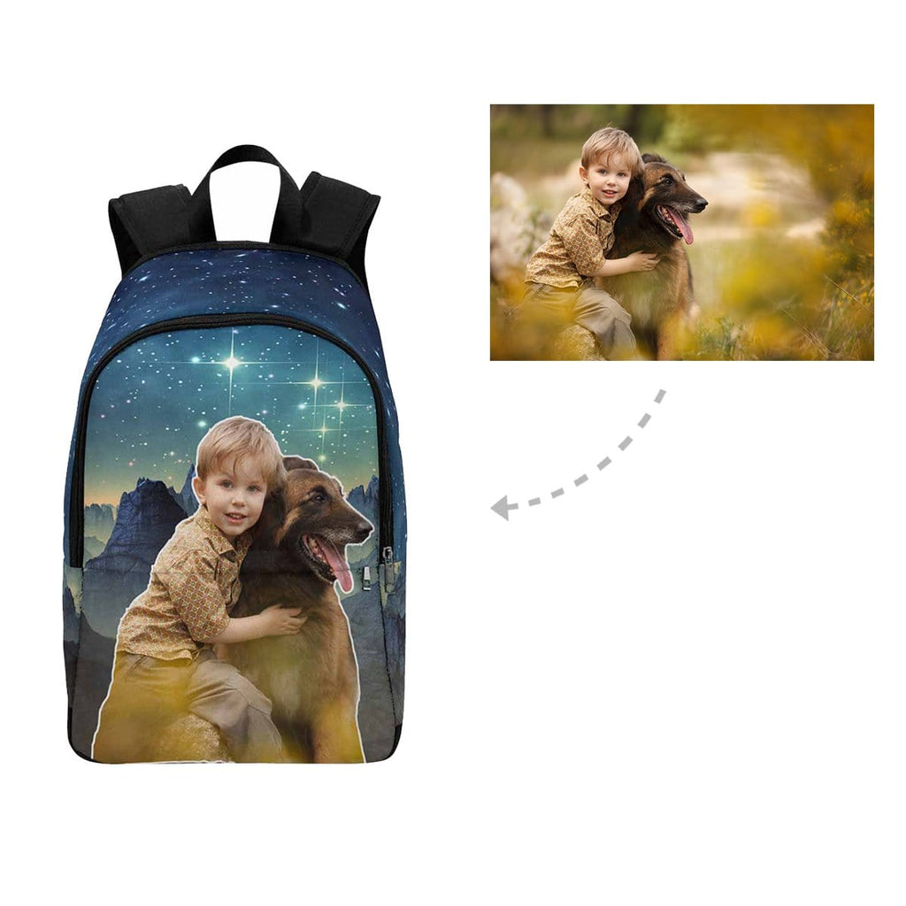 Custom Dog & Owner Backpack