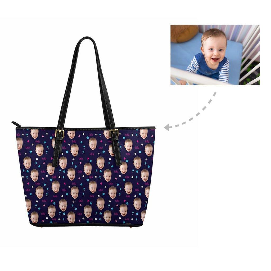 Custom Baby Face Women's Tote Bag