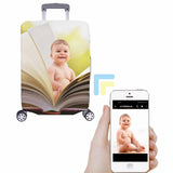 Custom Baby Book Luggage Cover
