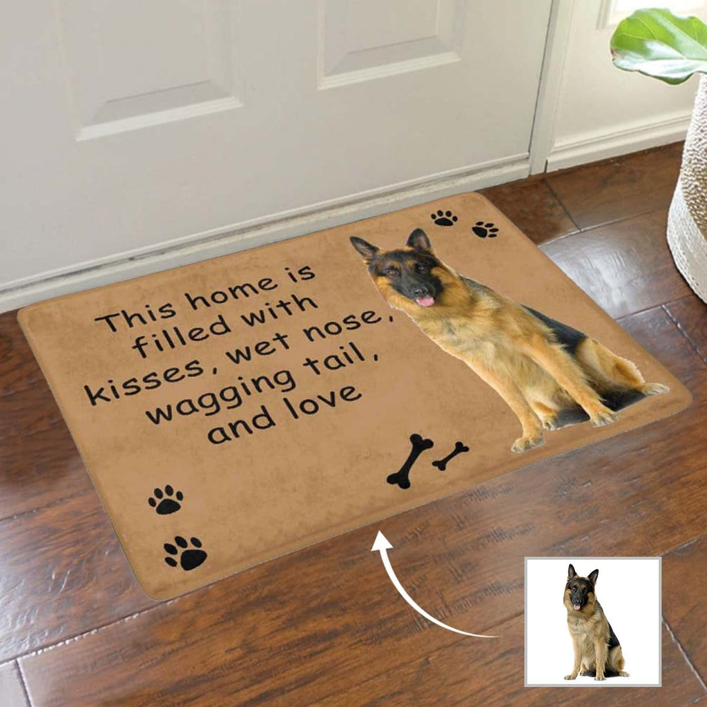 Custom Face Kisses Nose Doormat