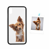 Custom Dog Photo Rubber Case for Iphone 8 Plus/XR/XS Max