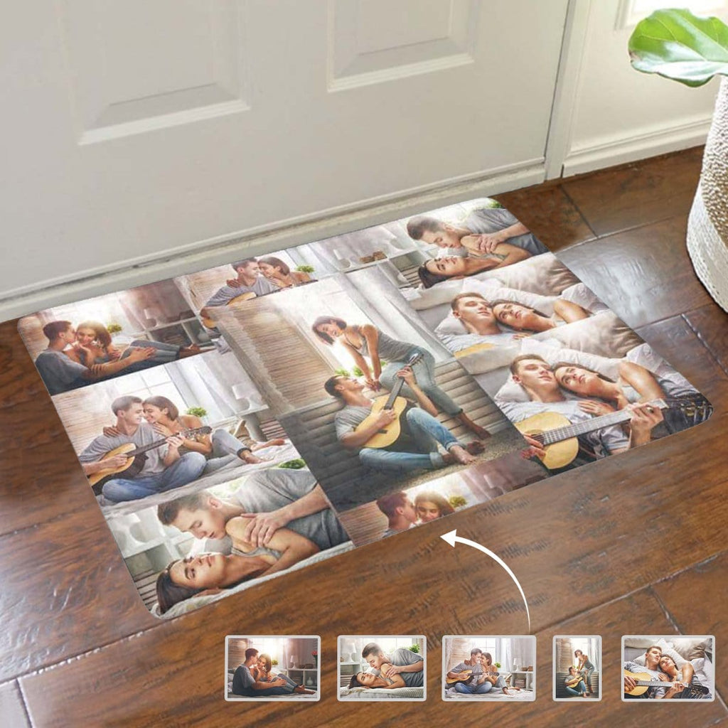 Custom Photo Happy Times Doormat