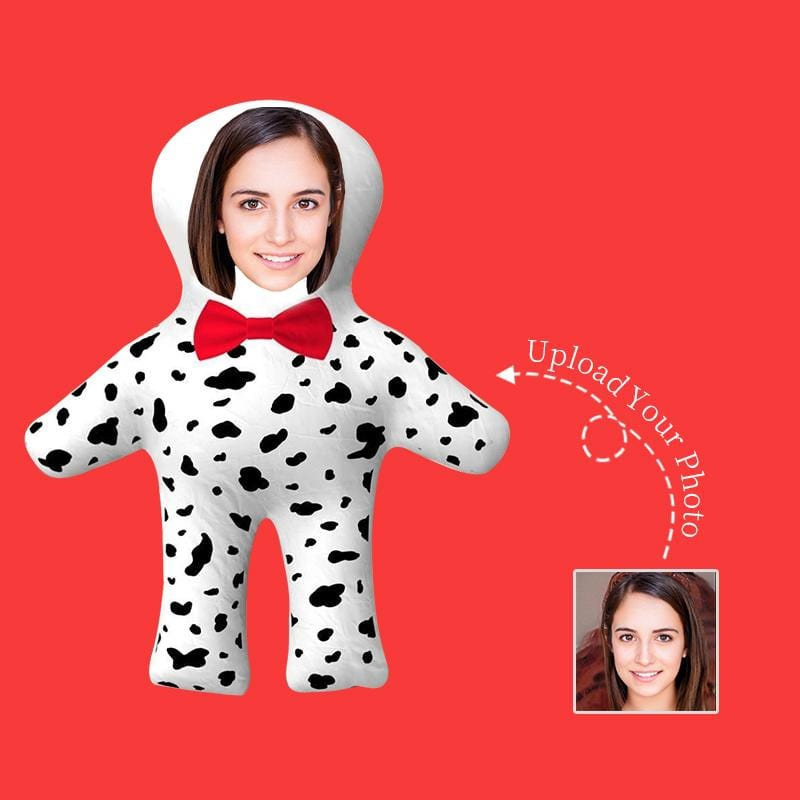 Custom Face Milk Cow Shaped Pillow