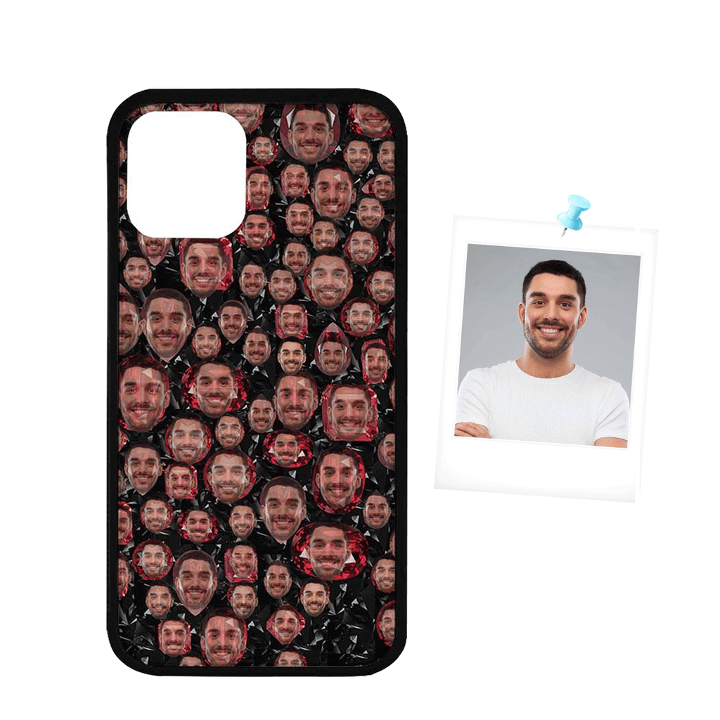"Custom Face Ruby Rubber Case for Iphone 11 Pro(5.8"")"
