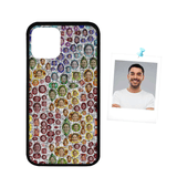 Custom Face Colorful Design Rubber Case for Iphone 11 Pro(5.8