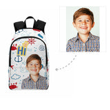 Custom Boy Face Sailor Backpack