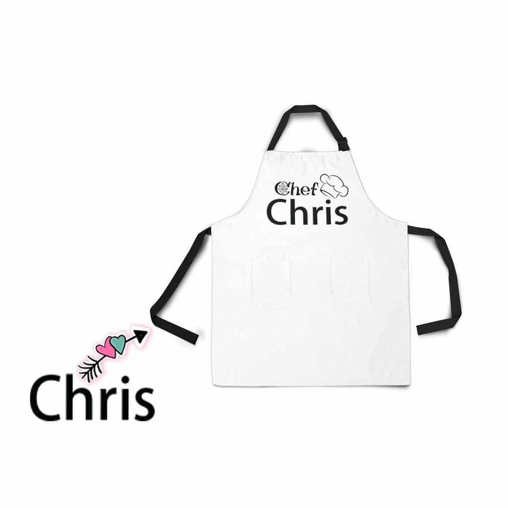 Custom Name All Over Print Adjustable Apron