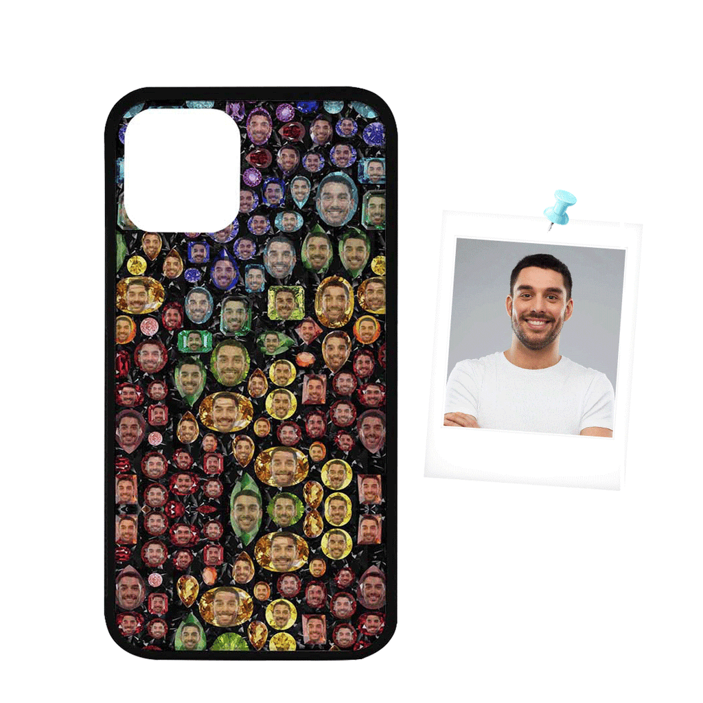 "Custom Face Personalized Design Rubber Case for Iphone 11 Pro(5.8"")"