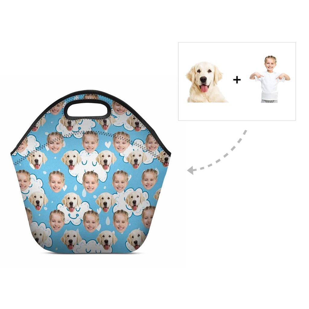 Custom Dog & Owner Neoprene Lunch Bag