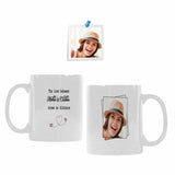 Custom Mother's Photo White Mug