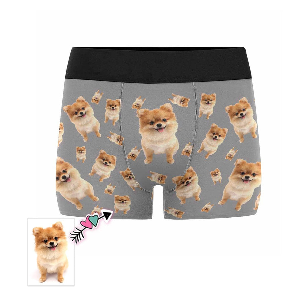 Custom Dog Men's Boxer Briefs