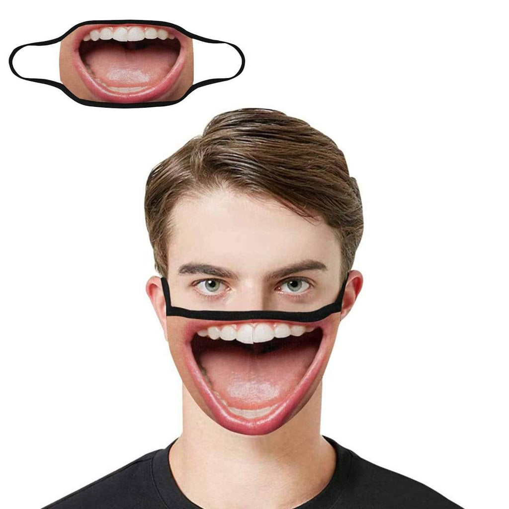 Open Mouth Fabric Mouth Mask
